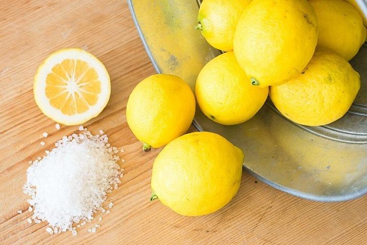 Lemon dan Garam, sumber : WowKeren.com
